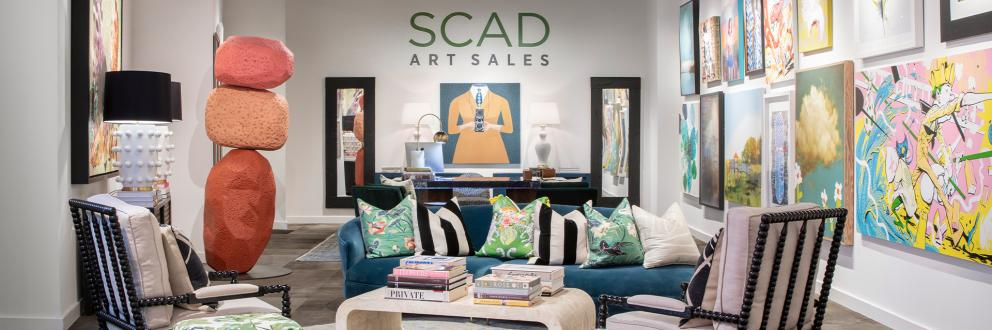 SCAD art sales hero